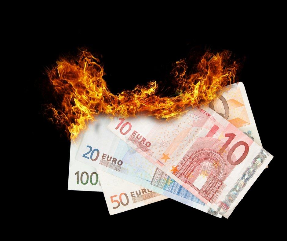 bruciare-soldi